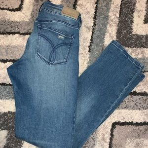 CALVIN Klein Distressed Straight leg jeans